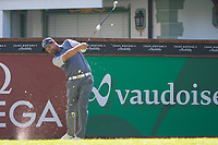 Padraig Harrington (IRL) watches his tee shot on the 17th hole during second round at the Omega European Masters, Golf Club Crans-sur-Sierre, Crans-Montana, Valais, Switzerland. 30/08/19.<br /> Picture Stefano DiMaria / Golffile.ie<br /> <br /> All photo usage must carry mandatory copyright credit (© Golffile | Stefano DiMaria)