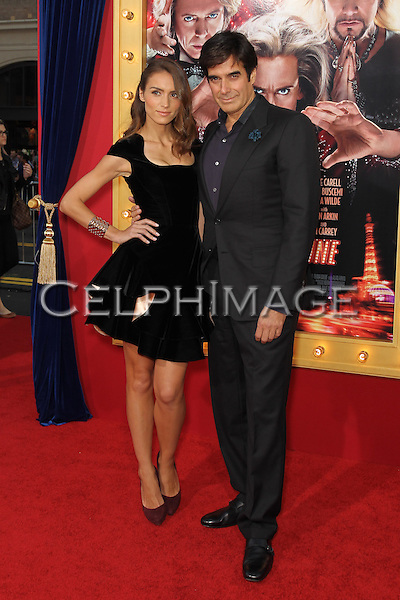 "Chloe Gosselin, David Copperfield. World premiere of ""The Incredible Burt Wonderstone,"" at TCL Chinese Theater. Hollywood, CA USA. March 11, 2013.©CelphImage"