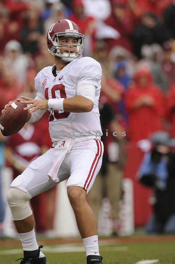 A.J. McCarron(10) / Alabama Crimson Tide
