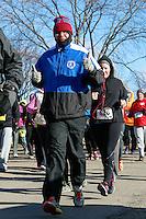The 2015 Barnesville Park Rotary Lake 5K walk/run, Barnesville, Ohio March 28, 2015.