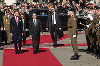 François Hollande during an official state visit to Luxembourg