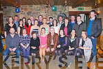 Niamh Kelly Beaufort seated centre celebrated her 30th birthday with her family and friends in the Beaufort bar Killarney on Saturday night