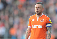 Blackpool's Jay Spearing<br /> <br /> Photographer Kevin Barnes/CameraSport<br /> <br /> The EFL Sky Bet League One - Blackpool v Southend United - Saturday 9th March 2019 - Bloomfield Road - Blackpool<br /> <br /> World Copyright © 2019 CameraSport. All rights reserved. 43 Linden Ave. Countesthorpe. Leicester. England. LE8 5PG - Tel: +44 (0) 116 277 4147 - admin@camerasport.com - www.camerasport.com