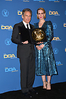LOS ANGELES, CA. February 02, 2019: Ben Stiller & Sarah Paulson at the 71st Annual Directors Guild of America Awards at the Ray Dolby Ballroom.<br /> Picture: Paul Smith/Featureflash