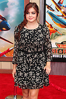 "HOLLYWOOD, LOS ANGELES, CA, USA - JULY 15: Actress Ariel Winter arrives at the World Premiere Of Disney's ""Planes: Fire & Rescue"" held at the El Capitan Theatre on July 15, 2014 in Hollywood, Los Angeles, California, United States. (Photo by Xavier Collin/Celebrity Monitor)"