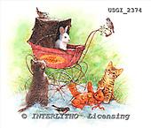 GIORDANO, CHRISTMAS ANIMALS, WEIHNACHTEN TIERE, NAVIDAD ANIMALES, paintings+++++,USGI2374,#XA#