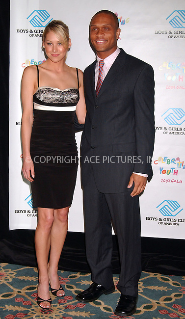 WWW.ACEPIXS.COM . . . . . ....June 6 2007, New York City....Firmer Tennis player Anna Kournikova and BGCA 2006-2007 national youth of the year Stacey Walker at the Boys & Girls Clubs of America gala at the Walforf Astoria hotel. Kournikova was awarded the organization's Champion of Youth Award.....Please byline: KRISTIN CALLAHAN - ACEPIXS.COM.. . . . . . ..Ace Pictures, Inc:  ..(646) 769 0430..e-mail: info@acepixs.com..web: http://www.acepixs.com