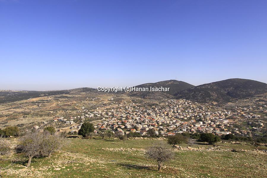 Israel, Upper Galilee, Druze village Hurfeish