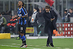 Antonio Conte Head coach of Inter screams directions at his players during the Coppa Italia match at Giuseppe Meazza, Milan. Picture date: 14th January 2020. Picture credit should read: Jonathan Moscrop/Sportimage