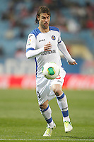 Getafe's Juan Valera during King's Cup match. December 13, 2012. (ALTERPHOTOS/Alvaro Hernandez) /NortePhoto