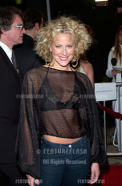 Actress BRITTANY DANIEL at the world premiere, in Los Angeles, of Saving Silverman..07FEB2001.  © Paul Smith/Featureflash