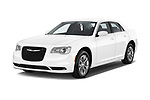 2017 Chrysler 300 Limited 4 Door Sedan Angular Front stock photos of front three quarter view