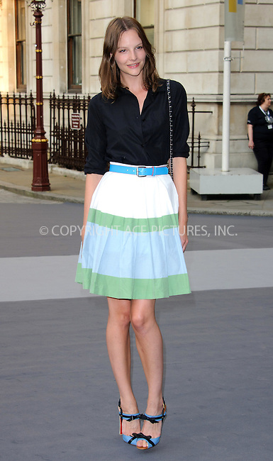 WWW.ACEPIXS.COM . . . . .  ..... . . . . US SALES ONLY . . . . .....June 2 2011, London....Cara Delevingne at the Royal Academy Summer Exhibition 2011 VIP private view at the Royal Academy of Arts in London - 02 June 2011....Please byline: FAMOUS-ACE PICTURES... . . . .  ....Ace Pictures, Inc:  ..Tel: (212) 243-8787..e-mail: info@acepixs.com..web: http://www.acepixs.com