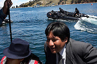 Bolivian Navy scuba divers head out to sea to mourn the day they lost their ocean to Chile in the War of the Pacific. Bolivia lost what is now northern Chile in a war over nitrates leaving Bolivia without access to the ocean.