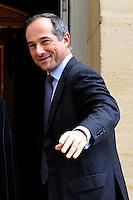 """FREDERIC OUDEA Direttore Generale de la """"Societe Generale"""" .02/11/2011 Parigi.Incontro tra il Primo Ministro Francese e i banchieri francesi a l'Hotel de Matignon.Foto Gerard Roussel / Panoramic / Insidefoto........."""
