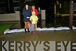 Floods: On Monday morning up in Brendan's Park, the Firbrigade were called to release water from in front of Houses in Brendan's Park and the Monavelly Insdustrail Estate and walking to School were Meghan and Shauna Rusk and Martina Rohan to work they could'nt walk till the Fire Brigade came to releas some wayer from outside their house in Brendan's Park.