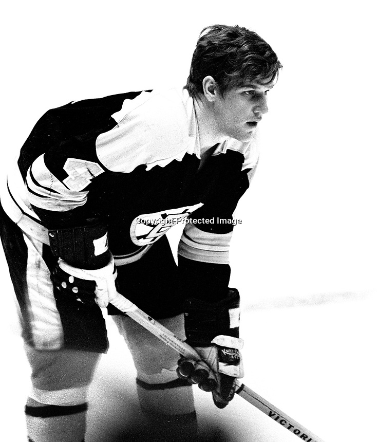 Bobton Bruins star Bobby Orr (1971 photo/Ron Riesterer)