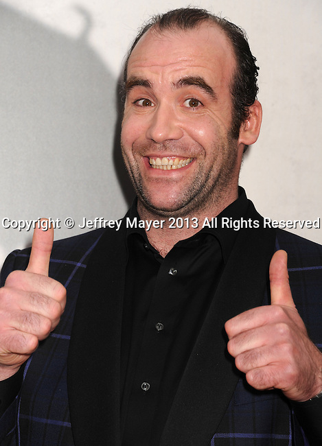 "HOLLYWOOD, CA - MARCH 18: Rory McCann.. arrives at the Los Angeles premiere of HBO's ""Game Of Thrones"" Season 3 at TCL Chinese Theater on March 18, 2013 in Hollywood, California."