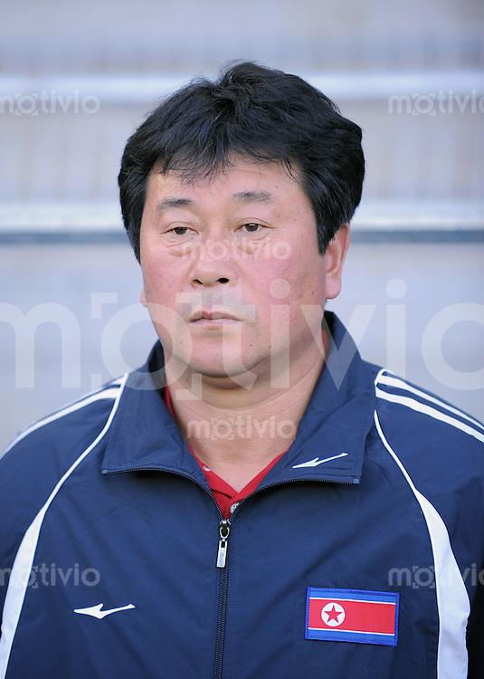 Fussball Frauen FIFA U 20  Weltmeisterschaft 2008     20.11.2008 Brasilien - Korea DVR PRK Trainer Kwang Sok Choe