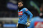 Orestis Karnezis of Napoli  during the Coppa Italia match at Giuseppe Meazza, Milan. Picture date: 12th February 2020. Picture credit should read: Jonathan Moscrop/Sportimage