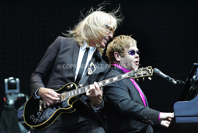 WWW.ACEPIXS.COM . . . . .  ..... . . . . US SALES ONLY . . . . .....June 9 2012, England.... Elton John performs at the B2NET Stadium on June 9 2012 in Chesterfield, England....Please byline: FAMOUS-ACE PICTURES... . . . .  ....Ace Pictures, Inc:  ..Tel: (212) 243-8787..e-mail: info@acepixs.com..web: http://www.acepixs.com