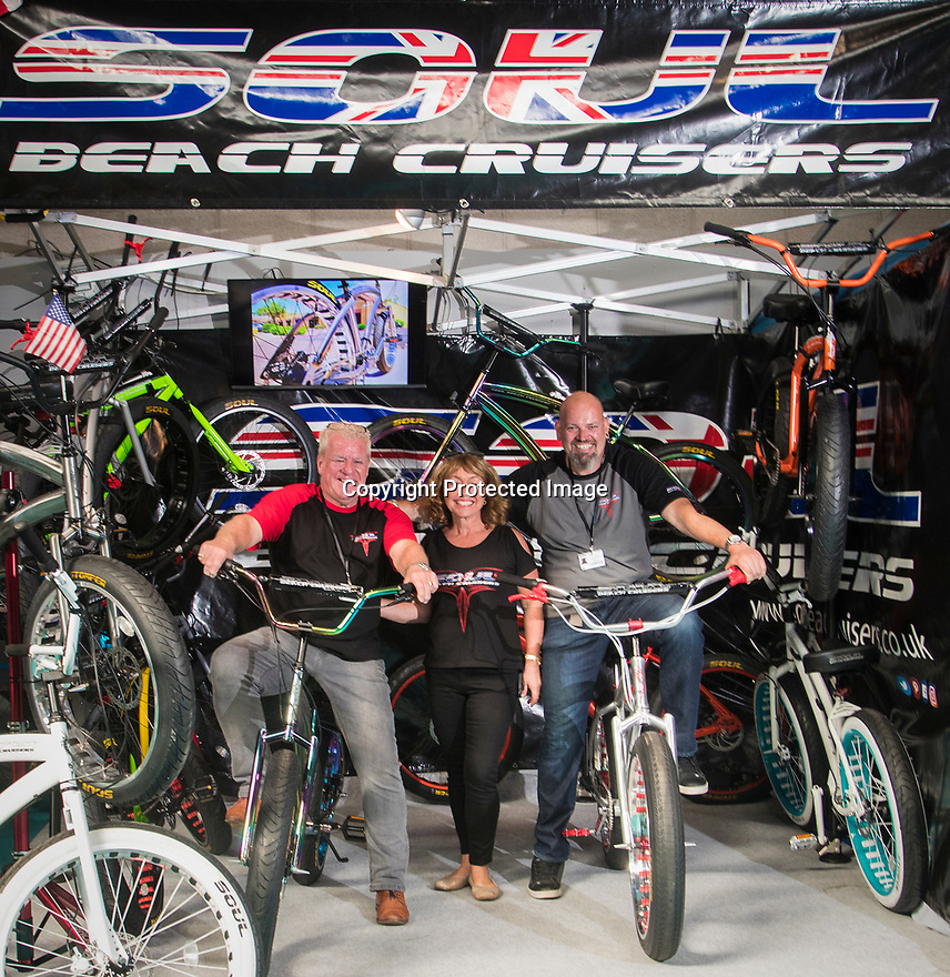 27/09/18<br /> <br /> ***Free photo for social media use***<br /> <br /> Soul stand at the Cycle Show, NEC, Birmingham<br /> <br /> <br /> All Rights Reserved, F Stop Press Ltd. (0)1335 344240 +44 (0)7765 242650  www.fstoppress.com rod@fstoppress.com