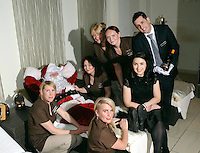 Santa gets his sppecial christmas makeover from the Aghadoe Heights Hotel Christmas Spa including Yvette Ryan, Georgina Dempsey, Rosemarie O&rsquo;Connor, Rita Bonn, Brid Moriarty, David O&rsquo;Brien and Spa Manager Noreen O&rsquo;Connor during his visit last weekend.<br /> Picture by Don MacMonagle<br /> <br /> pr photo from Aghadoe