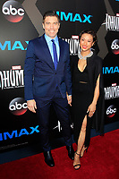 "LOS ANGELES - AUG 28:  Anson Mount, Darah Trang at the ABC and Marvel's ""Inhumans"" Premiere Screening at the Universal City Walk on August 28, 2017 in Los Angeles, CA"