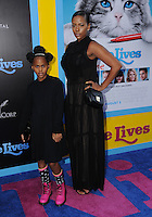 """01 August 2016 - Hollywood, California. Kennedy Carter, Sunday Carter. World premiere of """"Nine Lives"""" held at the TCL Chinese Theatre. Photo Credit: Birdie Thompson/AdMedia"""