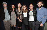 Michael Rudko, Merritt Janson, Christina Rouner, Lisa Joyce, Rob Campbell and Director Daniel Fish attending the Opening Night of the Transport Group Production of 'House For Sale' at the Duke on 42nd Street  on 10/24/2012 in New York.