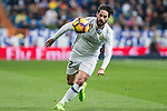Isco Alarcon of Real Madrid during the match of Spanish La Liga between Real Madrid and UD Las Palmas at  Santiago Bernabeu Stadium in Madrid, Spain. March 01, 2017. (ALTERPHOTOS / Rodrigo Jimenez)