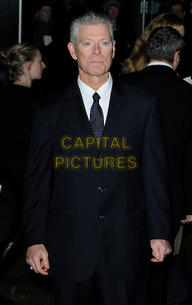 "STEPHEN LANG .At the World film premiere of ""Avatar"", Odeon cinema Leicester Square, London, England, UK, .10th December 2009..arrivals half length black tie suit .CAP/CAN.©Can Nguyen/Capital Pictures"