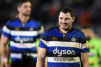 James Phillips of Bath Rugby looks on after the match. Aviva Premiership match, between Bath Rugby and Northampton Saints on February 9, 2018 at the Recreation Ground in Bath, England. Photo by: Patrick Khachfe / Onside Images