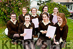 Presentation Secondary Listowel students after completing their English 1 Leaving Cert Exam on Wednesday: Front : Fionna Hunt, Laura Sheehy and Iseult O'Callaghan. Back : Danielle Brassil, Niamh Costello, Kerri-Ann Dowling, Aoife Healy & Jana Finnucane