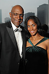 Tonya and Clyde Drexler at the Memorial Hermann Circle of Life Gala at the Hilton Americas Hotel Saturday April 11, 2015.(Dave Rossman photo)