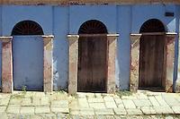 Restored building in the old Spanish colonial mining town of Copala near Mazatlan, Sinaloa, Mexico..