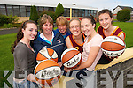 HELPING HAND: Players and officials from Team Kerry St. Joseph's Basketball team who are looking for volunteers to work with various teams in the club..L/r. Aisling Scanlon, Ann Scanlon, Claire Sheehy, Rhiannon McNulty, Eabhnait Scanlon and Lorraine Scanlon..