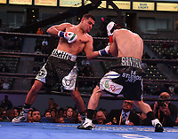 """CARSON, CA- MARCH 9: ABEL RAMOS vs FRANCISCO SANTANA fight during the Fox Sports """"PBC on Fox"""" Fight Night at Dignity Health Sports Park on March 9, 2019 in Carson, California. (Photo by Frank Micelotta/Fox Sports/PictureGroup)"""