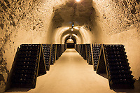 Caves of Taittinger Champagne in Reims, Champagne-Ardenne, France