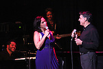 Linda Eder and Robert Cullioli with Billy Jay Stein (at Piano) performing their show 'A New Life'  ('Jekyll & Hyde' Reunion) at The Town Hall on October 13, 2012 in New York City.