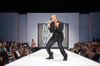 Chris Willis performs at Miami Fashion Week 2013, Miami Beach, FL