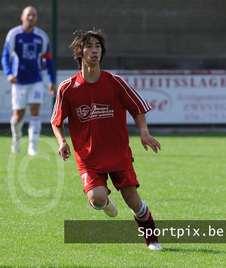 Zwevegem Sport : Nipat Thollebeek.foto VDB / BART VANDENBROUCKE