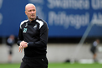 Monday 20th August 2018<br /> Pictured: Swansea City's u23's Coaches Cameron Toshack<br /> Re: Swansea City U23 v Derby County U23 Premier League 2 match at the Landore Training facility, Swansea, Wales, UK