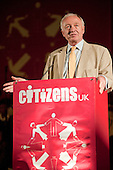 "Ken Livingstone addresses a ""Day for Civil Society"" organized by Citizens UK / London Citizens to celebrate 10 years of the Living Wage Campaign, launch a National Living Wage Foundation and call for the living wage to be adopted nationally.  Central Hall, Westminster."