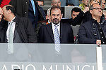 Getafe's President Angel Torres during La Liga match. April 16,2016. (ALTERPHOTOS/Acero)