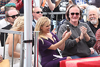 HOLLYWOOD, CA - MAY 04: Kate Hudson and Reese Withersoon take selfies and Quentin Tarantino pictured at the ceremony honoring Goldie Hawn and Kurt Russell with a double star ceremony on The Hollywood Walk of Fame on May 4, 2017 in Hollywood, California. Credit: Faye Sadou/MediaPunch