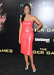 Garcelle Beauvais attends the Lionsgate World Premiere of The hunger Games held at The Nokia Theater Live in Los Angeles, California on March 12,2012                                                                               © 2012 DVS / Hollywood Press Agency