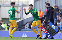 Preston North End's Sean Maguire is replaced by Brandon Barker<br /> <br /> Photographer Rich Linley/CameraSport<br /> <br /> The EFL Sky Bet Championship - Blackburn Rovers v Preston North End - Saturday 9th March 2019 - Ewood Park - Blackburn<br /> <br /> World Copyright © 2019 CameraSport. All rights reserved. 43 Linden Ave. Countesthorpe. Leicester. England. LE8 5PG - Tel: +44 (0) 116 277 4147 - admin@camerasport.com - www.camerasport.com