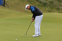 Darren Fichardt (RSA) on the 6th green during Round 2 of the Irish Open at LaHinch Golf Club, LaHinch, Co. Clare on Friday 5th July 2019.<br /> Picture:  Thos Caffrey / Golffile<br /> <br /> All photos usage must carry mandatory copyright credit (© Golffile | Thos Caffrey)