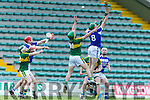 At the Allianz Hurling League Division 1B match against  Laois at Austin Stack Park on Sunday